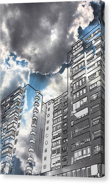 Ecological Architecture Canvas Print