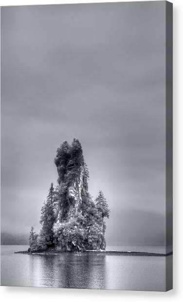 Eddystone Rock Misty Fjords National Monument Alaska Canvas Print