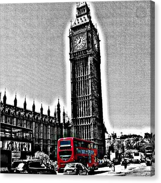 London2012 Canvas Print - Edited Photo, May 2012 | #london by Abdelrahman Alawwad