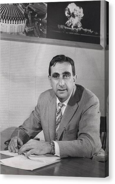 Edward Teller 1908-2003, In 1958 Canvas Print by Everett