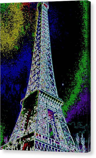 Eiffel Canvas Print by David Alvarez