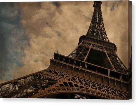 Eiffel Tower Canvas Print - Eiffel Tower 2 by Mary Machare