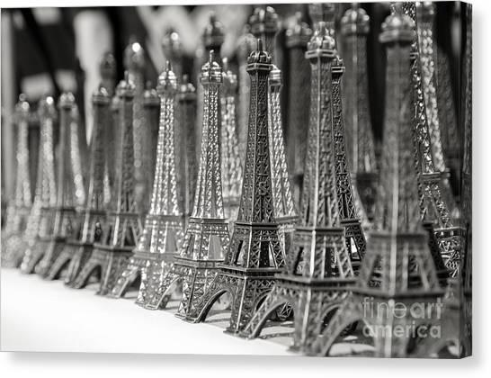 Eiffel Tower Miniature Canvas Print