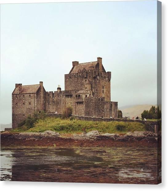 Fantasy Canvas Print - Eilean Donan Castle - Scotland by Luisa Azzolini