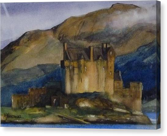Eilean Donan Castle Canvas Print by Tony Northover