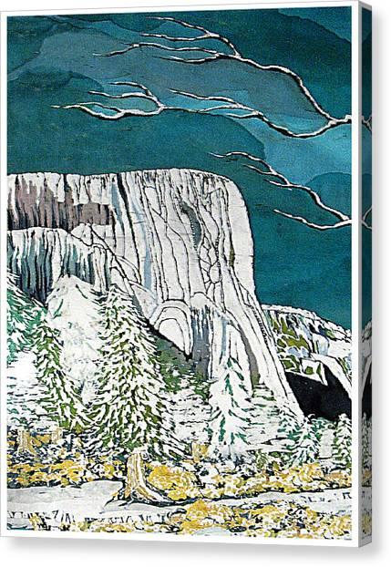 El Capitan Canvas Print by Alexandra  Sanders