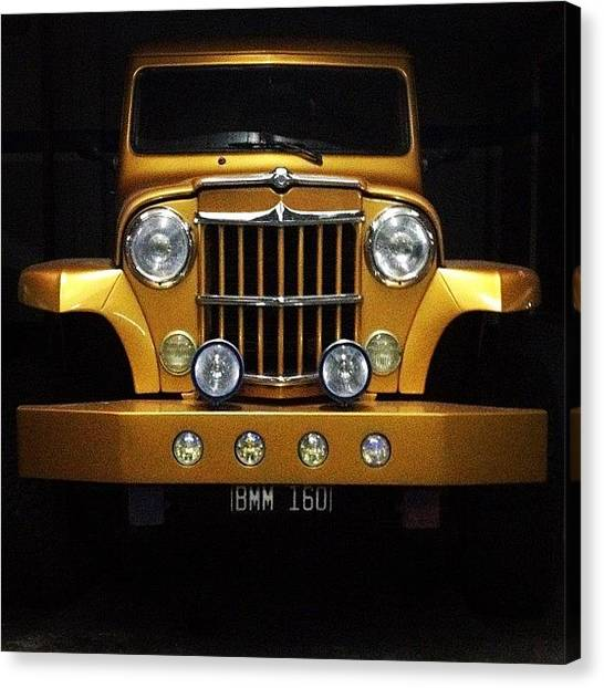 Trucks Canvas Print - El Dorado by Diego Jolodenco