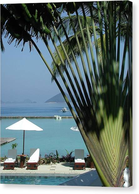 El Nido Vacation Canvas Print by Tia Anderson-Esguerra