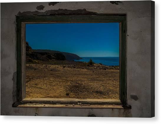 Elba Island - Inside The Frame - Ph Enrico Pelos Canvas Print
