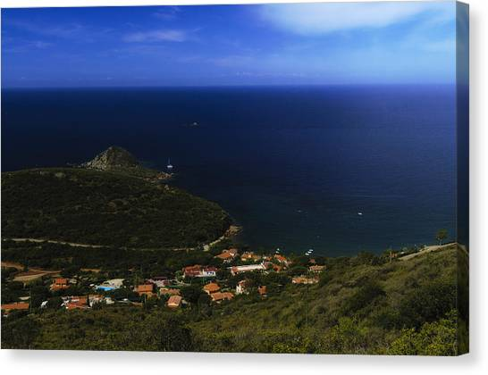 Elba Island - Lovers Beach Dreamscape - Ph Enrico Pelos Canvas Print