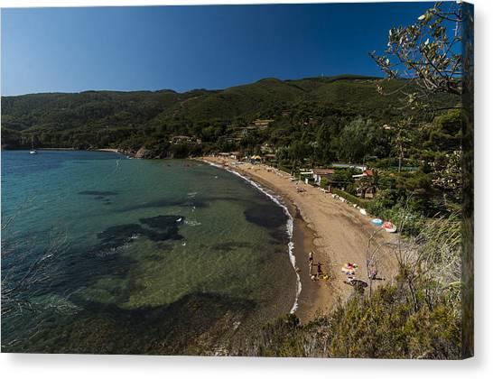 Elba Island - On The Beach 2 - Ph Enrico Pelos Canvas Print