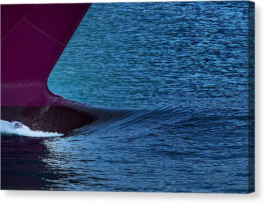 Elba Island - Purple Wave - Ph Enrico Pelos Canvas Print