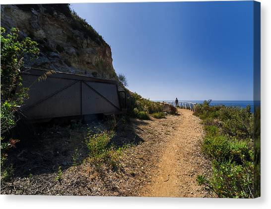 Elba Island - The Ancient Path - Il Vecchio Sentiero - Ph Enrico Pelos Canvas Print