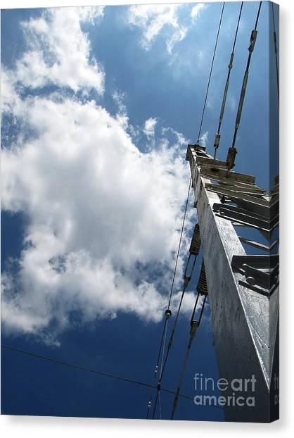 Elektik Sky Canvas Print