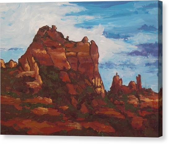Elephant Rock Canvas Print by Sandy Tracey
