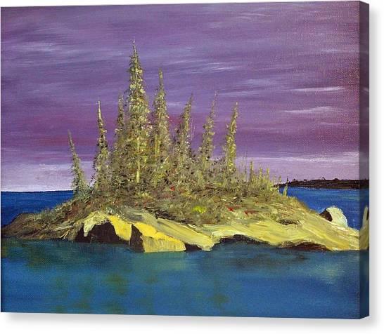 Elk Island Alberta Canvas Print