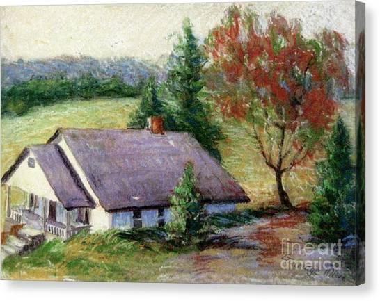 Ellijay Home Canvas Print