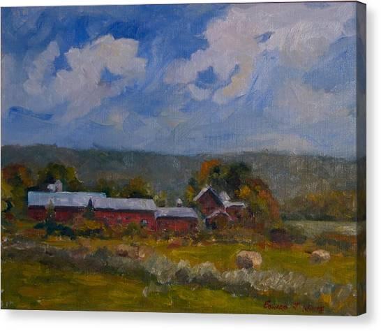 Elm Knoll September Canvas Print