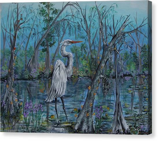 Elusive Swamp Canvas Print