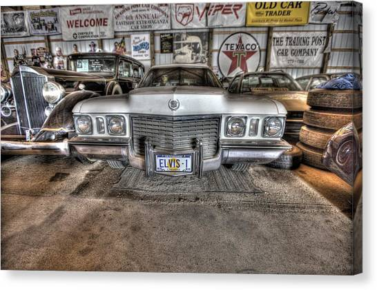 New York Red Bulls Canvas Print - Elvis' Cadillac by Nicholas  Grunas