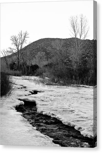 Embudo Ice Canvas Print