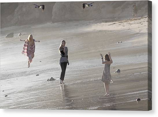 Emerged From The Sea Canvas Print by Viktor Savchenko