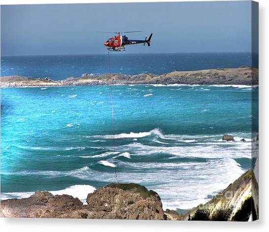 Emergency Pick Up Canvas Print by Joanne Kocwin