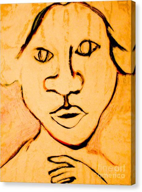 Emily Canvas Print by Bill Davis