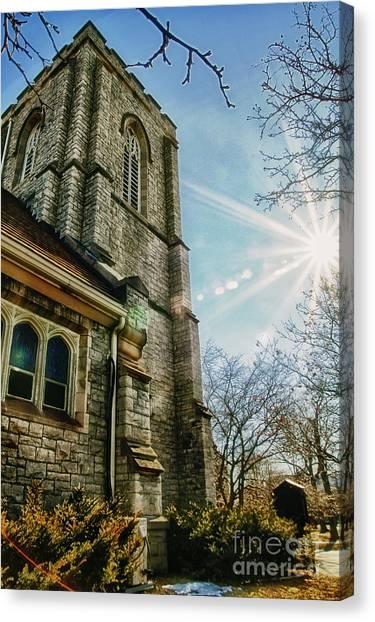 Appleton Canvas Print - Emmanuel United Methodist Church by Joel Witmeyer