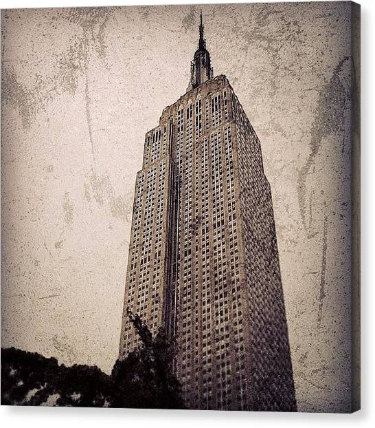 Skyscrapers Canvas Print - Empire State Building - New York by Joel Lopez