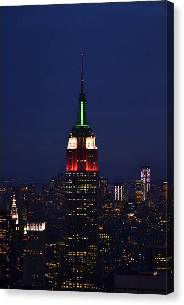 Empire State Building1 Canvas Print