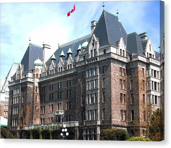 Empress Hotel  Canvas Print