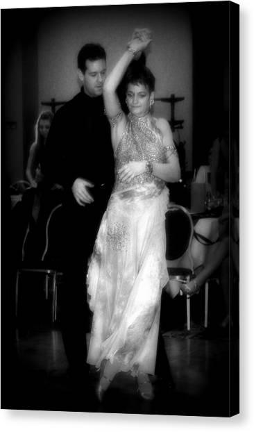 Enchanting Ballroom Canvas Print by Lori Seaman
