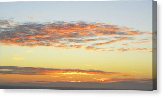 End Of The Day Canvas Print by Mariola Szeliga