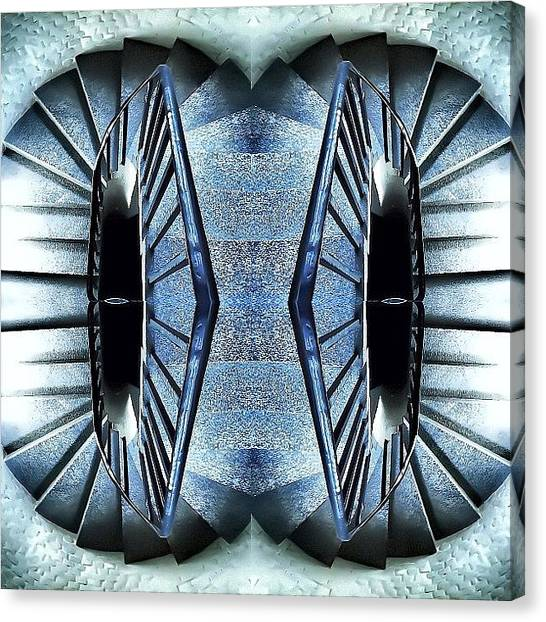 Symmetrical Canvas Print - Endless Steps by James Peto