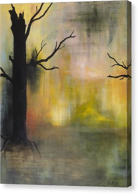 Endless Swamp Canvas Print by Nicole Williams