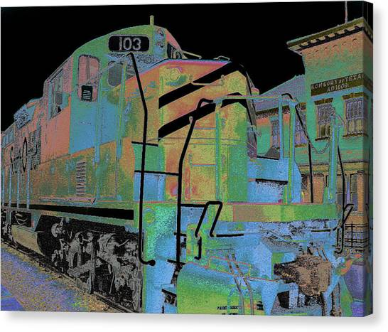 Engine 103 Canvas Print