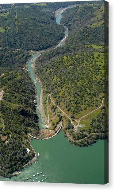 Englebright Dam Canvas Print