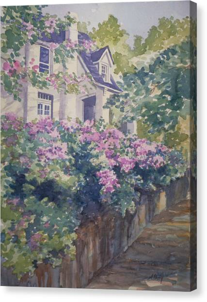 English Summer Canvas Print