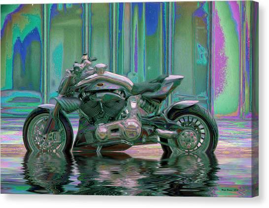 Rain Canvas Print - Enough Rain Already by Wayne Bonney