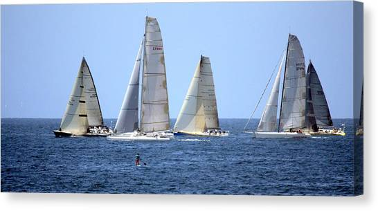 Ensenada Race Xiv Canvas Print