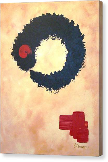 Enso Abstract Canvas Print