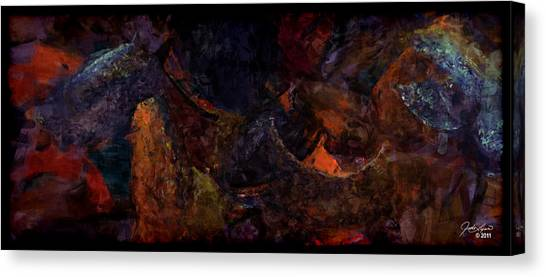 Entangled Dreams Canvas Print