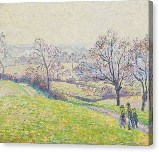 Camille Canvas Print - Epping Landscape by Camille Pissarro