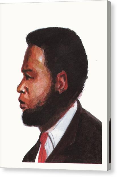 Atlantic 10 Canvas Print - Ernest Simo by Emmanuel Baliyanga