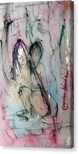 Erotic 2 Canvas Print