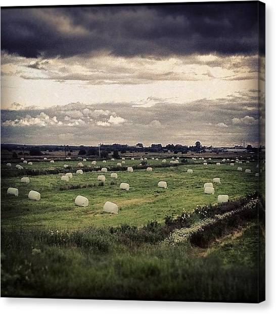 Ufos Canvas Print - #erth by Aydar Ifrit