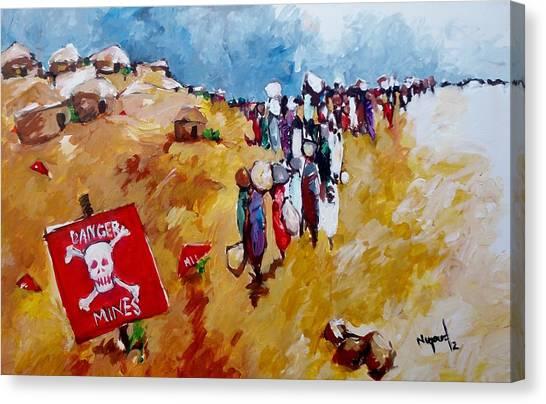Escape.. Canvas Print by Negoud Dahab