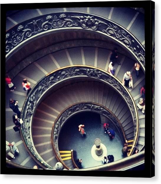 Fibonacci Canvas Print - Espiral by Marce HH