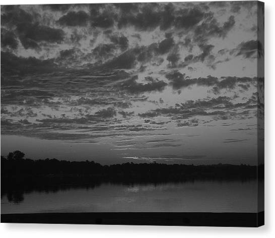 Essence Of A Sunrise Canvas Print by Dennis Leatherman